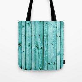 Blue Wood Texture Tote Bag