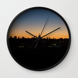 Sunset Portugal Wall Clock