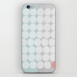 Concrete Dots iPhone Skin