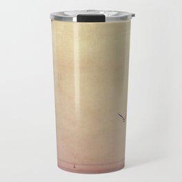 sea teal Travel Mug