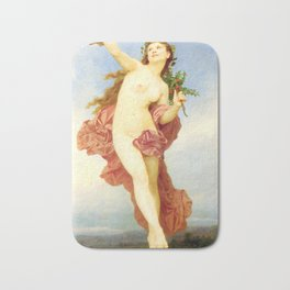 Day : Nude by William-Adolphe Bouguereau Bath Mat