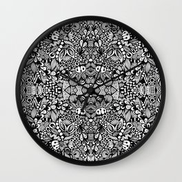 Zentangle  Wall Clock