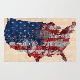 america map  Rug