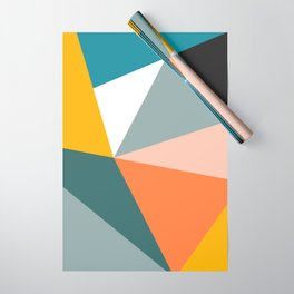 Modern Geometric 33 Wrapping Paper