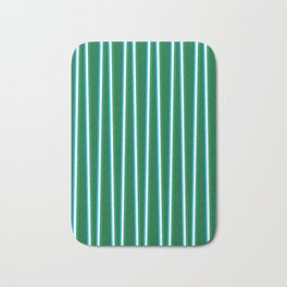 Between the Trees - Forest Green, Green & Blue #811 Bath Mat