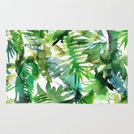VIBE of the Jungle  {A-green} Rug