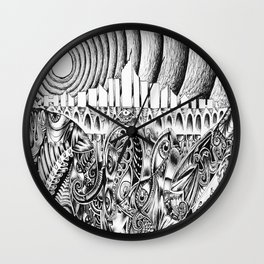 Sewage Wall Clock