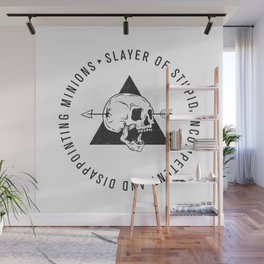 Slayer Title Wall Mural