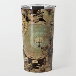 The mediaeval theater Travel Mug