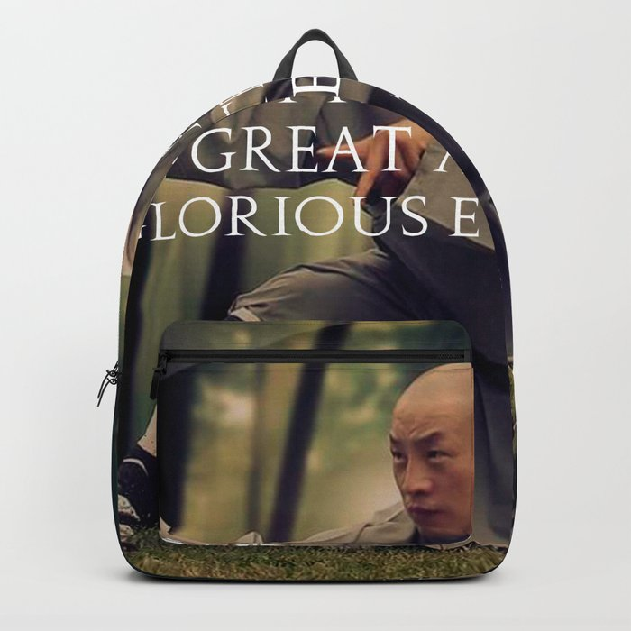 Dont fear failure... in great attempts... Backpack