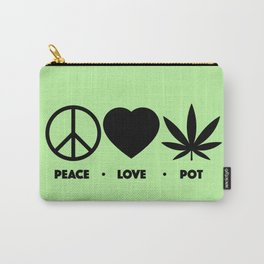 Peace Love (Legal) Pot Carry-All Pouch