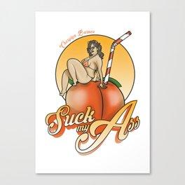 SUCK MY ASS Canvas Print