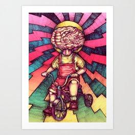 Brainchild Art Print
