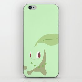 Chikorita PKMN iPhone Skin