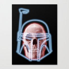 Neon Fett Canvas Print