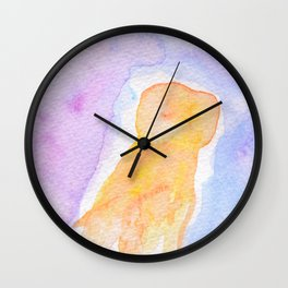 Cometa Flamígero Wall Clock