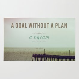 A Goal Without A Plan Rug