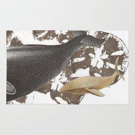 whale away Rug