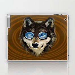 Nerd Wolf Laptop & iPad Skin