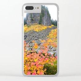 Table Rock Wilderness Landscape Clear iPhone Case