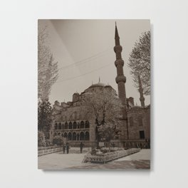"""Sultan Ahmed Mosque (""""Blue Mosque"""", Istanbul, TURKEY) Metal Print"""