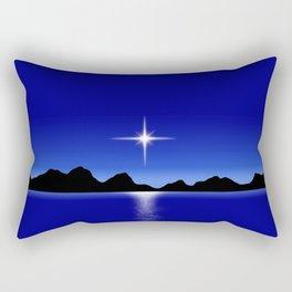 Star Horizon 107 Blue Sky Rectangular Pillow