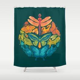 Bugs & Butterflies 2 Shower Curtain