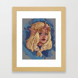 Hyrule Warriors Princess Zelda Framed Art Print