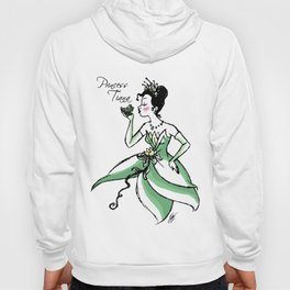 Princess Tiana - Fairytale's Ladies Collection by LeleDraw Hoody