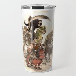 Four Horsemen Travel Mug