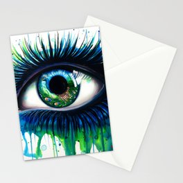 -The peacock- Stationery Cards