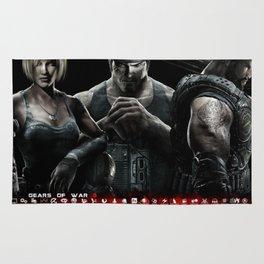 Gears Of War 10 Rug