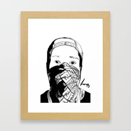 ASAP Rocky Drawing Framed Art Print
