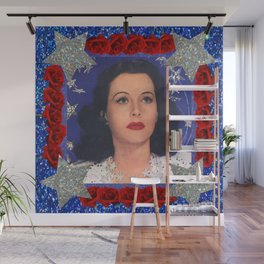 Ziegfeld Girl - Hedy Lamarr - Screen Siren  Wall Mural