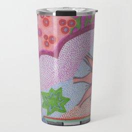 Flower Burst Travel Mug