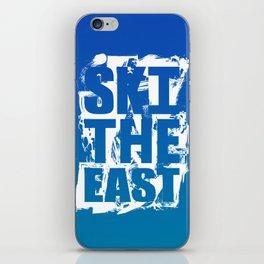 Ski The East iPhone Skin