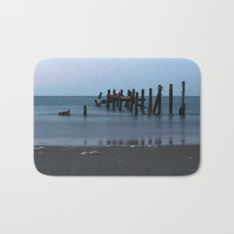 Happisburgh Beach Groynes Bath Mat