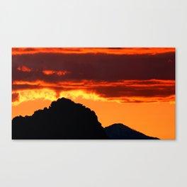 Mexican Fire Canvas Print