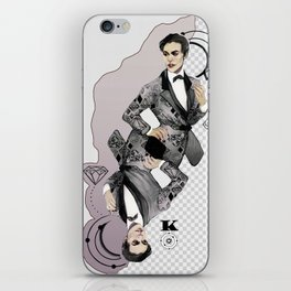 King of Carbon iPhone Skin