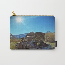 The End Of The Road Carry-All Pouch