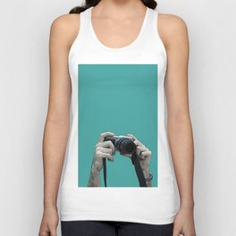 camera above the crowd Unisex Tank Top