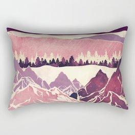 Burgundy Hills Rectangular Pillow