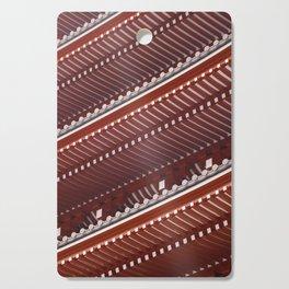Pagoda roof pattern Cutting Board