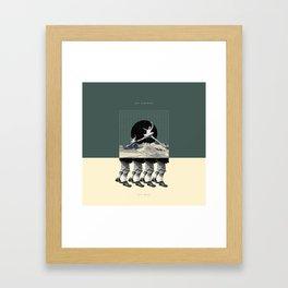 Aut Libertas Aut Mors Framed Art Print