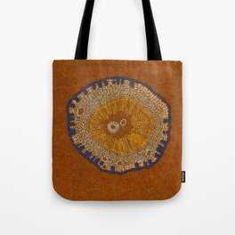 Growing - ginkgo - plant cell embroidery Tote Bag