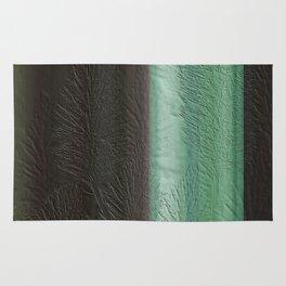 Green Leaf Overlay Rug