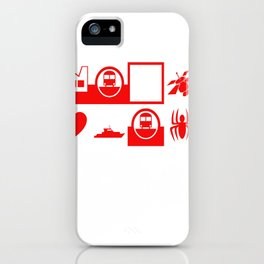 webdings says f*ck you iPhone Case