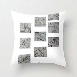 rubik's cube two Throw Pillow