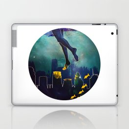Midnight Swim Laptop & iPad Skin
