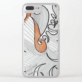 OTOÑO 10 Clear iPhone Case